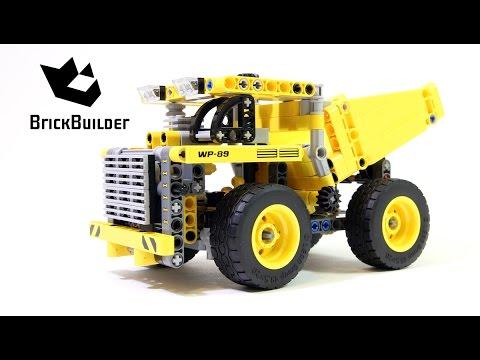 Vidéo LEGO Technic 42035 : Le camion de la mine