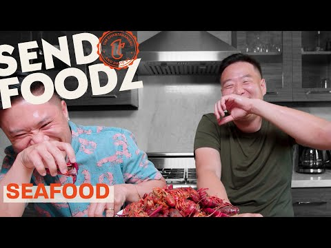 Tim and David Try America's Best Seafood | Send Foodz
