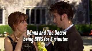 Donna And The Doctor Being BFFs For 8 Minutes