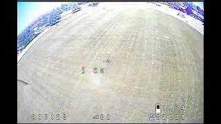 Beginner FPV Drone Footage Raw Analog Video