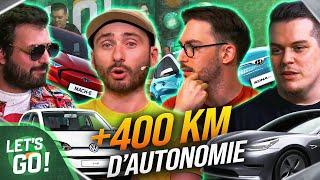 Les voitures électriques à plus de 400 km d'autonomie ! 🚗⚡   Let's Go #11