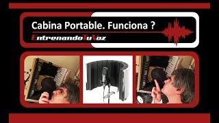 Cabina Acústica Casera   Cabina Portable