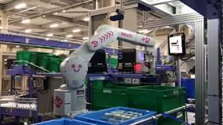 EC物流センターにおける商品ピッキング作業のロボット化