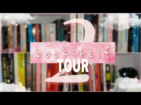 BOOKSHELF TOUR DO DESESPERO E BAGUNÇA   Parte 2 da tour pela minha estante de livros 2020