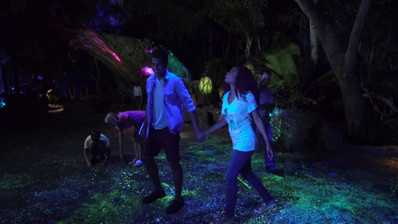 Bioluminescence on Pandora - The World of Avatar