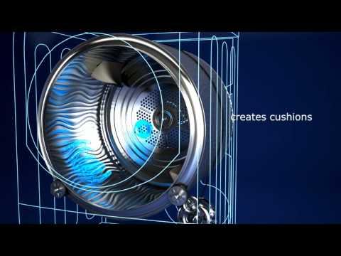 Hotpoint Freestanding Condenser Tumble Dryer CDN7000BP - White Video 1