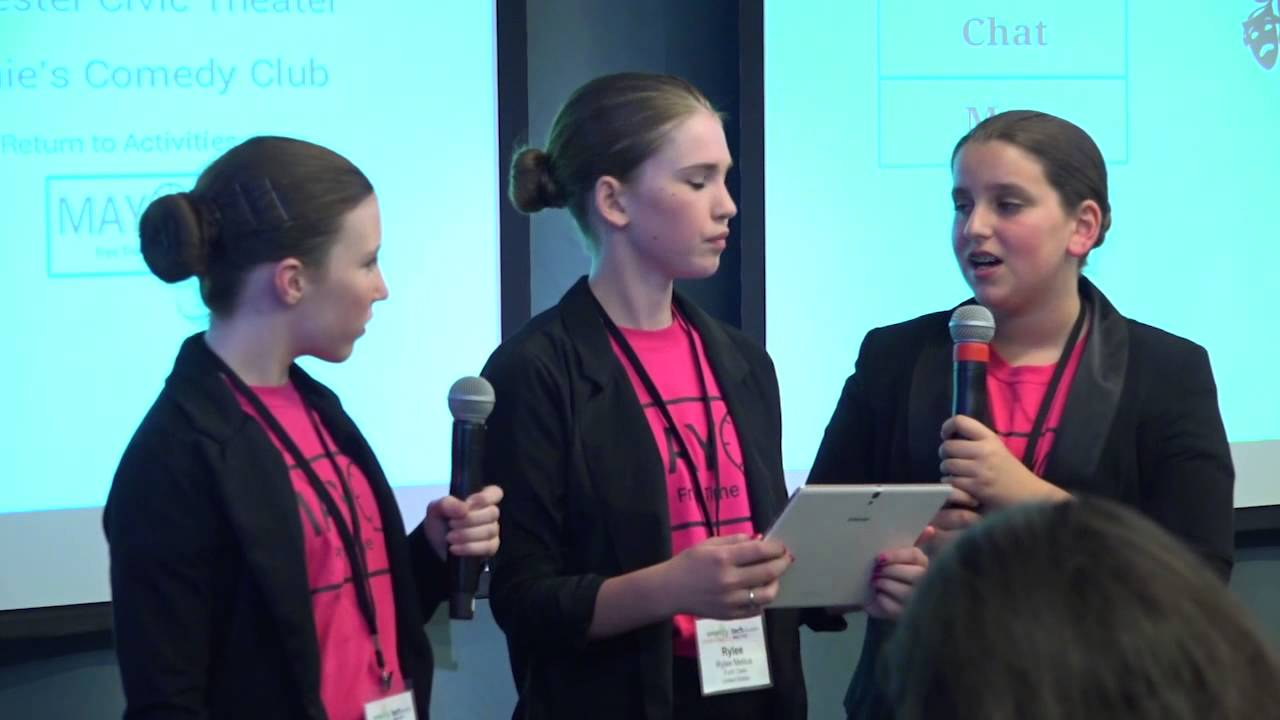 Inspiring Girls in Technology Entrepreneurship
