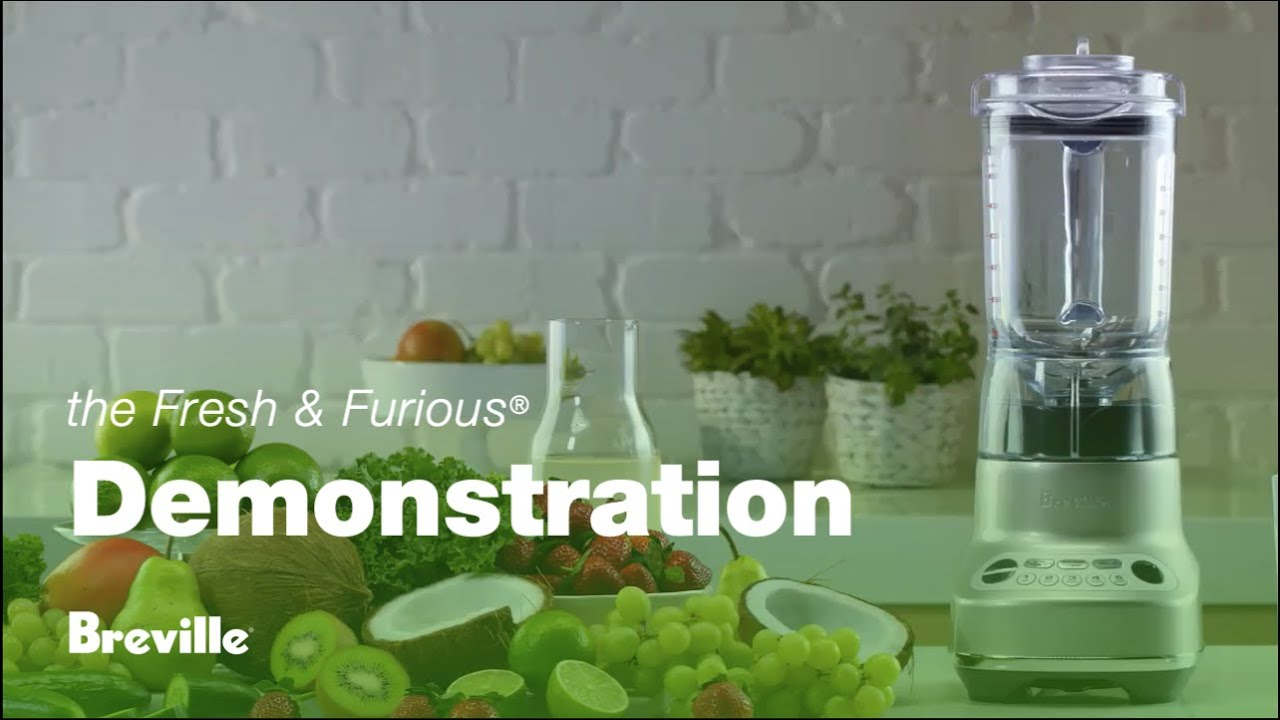 the Fresh & Furious® Blender - Product Demo