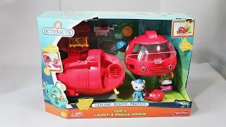 Октонавты и глубоководный батискаф. Развлекающие и развивающие видео обзоры детских игрушек