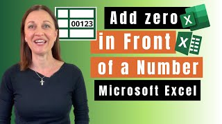 Add 0 in front of number in Excel (5 quick fixes)