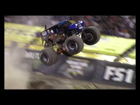 4K Stunning Son-Uva Grave Digger Wins Las Vegas XIX Monster Jam World Finals Freestyle Arena