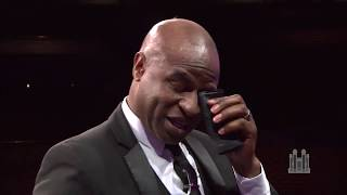 "Alex Boyé Receives A Tearful ""God Be With You"" Farewell"