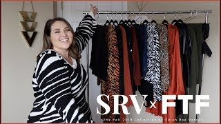 MY FALL COLLECTION WITH FASHION TO FIGURE! #SRVxFTF | PLUS SIZE FASHION