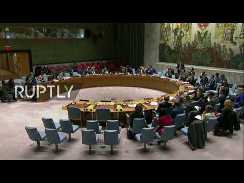LIVE: UNSC to vote on new sanctions against North Korea