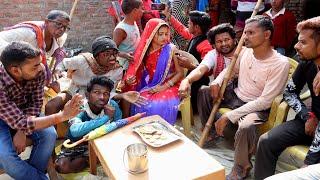 सूरदास के शादी में आयल न्यूज़ वाला लड़की से क्या पूछा // Bhojpuri Comedy Video, Khesari 2, Priti Ji