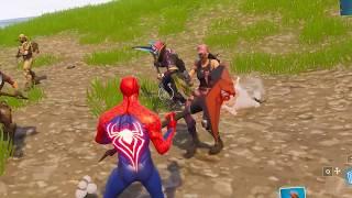 spiderman custom skin in fortnite battle royale - yoboy pizza fortnite hide and seek