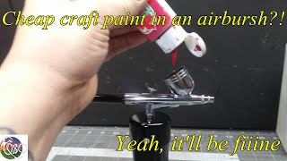 JTB: How To Use Cheap Craft Paint In An Airbrush