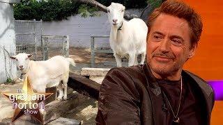 Robert Downey Jr.'s Sexually Active Gay Goats   The Graham Norton Show