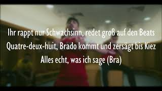 MERO Feat. BRADO   Olé Olé (Official HQ Lyrics) (Text)