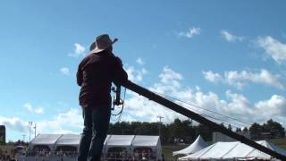 Tate Stevens sings Power Of A Love Song live at Boots and Hearts 2013