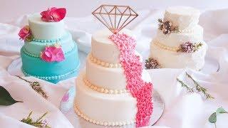 Cute MINI Elegant WEDDING CAKES- Rosies Dessert Spot