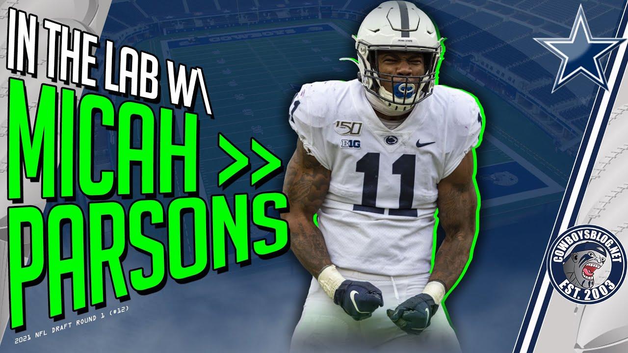 Top Reasons Micah Parsons Will Improve Dallas Cowboys Defense   Micah Parsons Film Breakdown