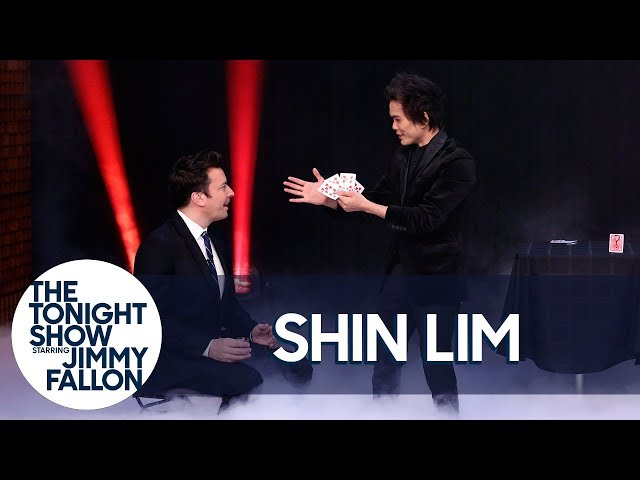 Shin Lim Performs a Series of Increasingly Shocking Card Tricks for Jimmy and The Roots