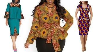 Best Ankara Styles Chic And Classy Fashion Styles For Work || Ankara Work Outfits || African Fashion