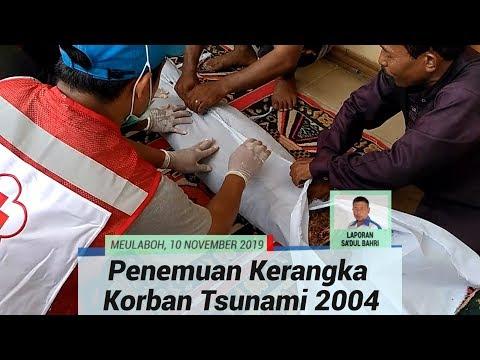 Warga Temukan Kerangka Korban Tsunami 2004 di Aceh Barat