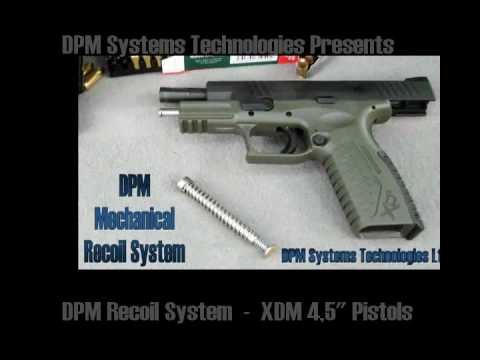 DPM Mechanical System for XDM 4.5