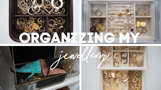 DECLUTTERING AND ORGANIZING MY JEWELLERY