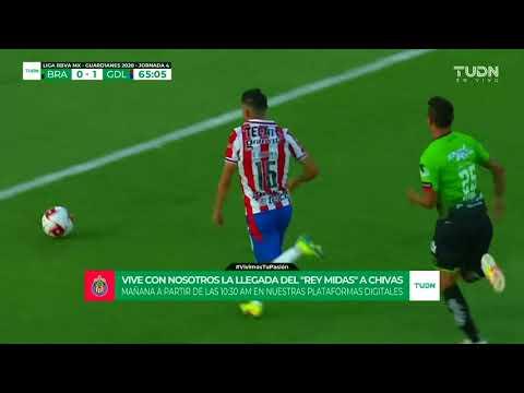 Gol de J. Angulo   Juárez 0 – 2 Guadalajara   Liga MX – Guardianes 2020 – Jornada 4   LIGA BBVA MX