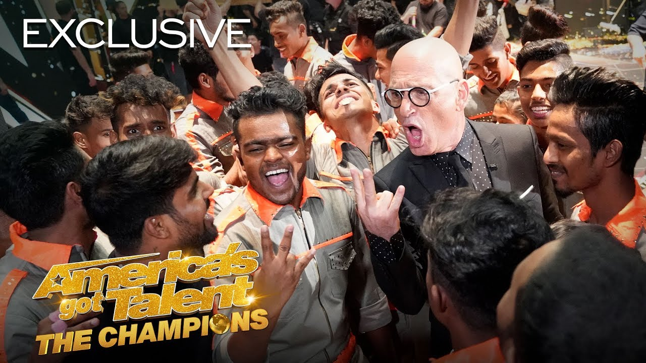 V.Unbeatable Reacts To Their Second Golden Buzzer Moment! - America's Got Talent: The Champions thumbnail
