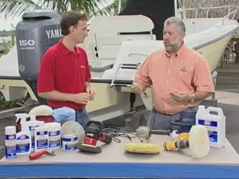 Cleaning Tips: Picking the right Buffer to detail, wax and polish your boat.