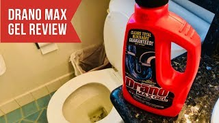 Drano Max Gel Clog Remover Review - Pro Strength