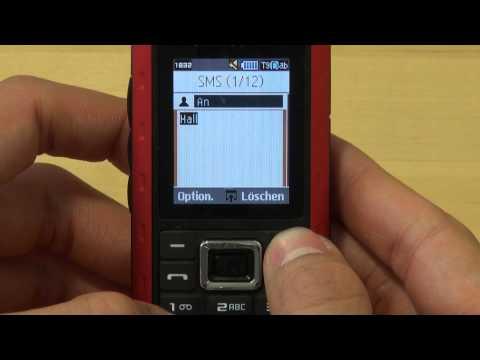 Samsung B2100 Test Bedienung