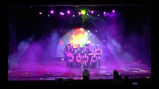 EBCD 2014 - Friendship theme group dance routine