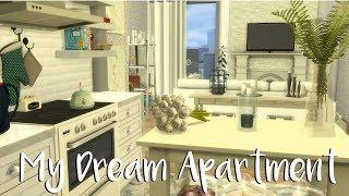 The Sims 4: Speed Build-  MY DREAM APARTMENT + CC LIST