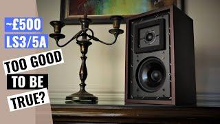 Sound Artist LS3/5A Speaker Review