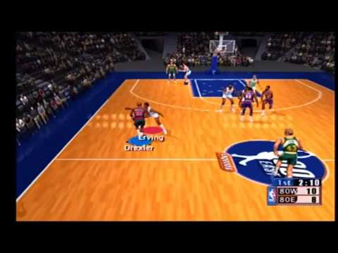 NBA 2K1 80s East vs 80s West Part 1