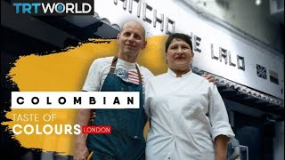Authentic Colombian food in London   Taste of Colours   E5