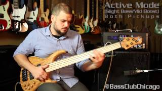 MTD Olive Top Namm Bass demo by Bass Club Chicago