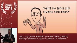 Building Confidence in Topics of Games User Research