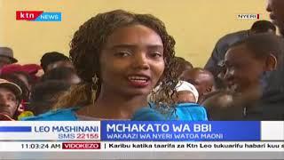 Mchakato wa BBI : Wakazi wa Nyeri watoa maoni yao