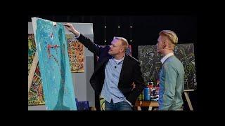Raab malt mit dem Wunderkind - TV total