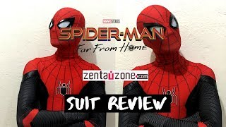 Spider-Man Far From Home Replica Suit from Zentaizone Unboxing and Review