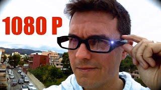 Gafas con cámara a 1080P económicas