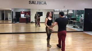 Two Step Lessons online with D'Amico Dance Intermediate Class Recap 12/10/18