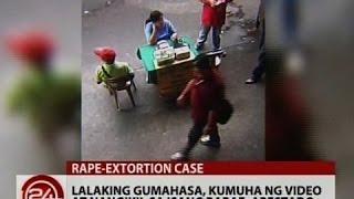 24 Oras: Lalaking gumahasa, kumuha ng video at nangikil sa isang babae, arestado