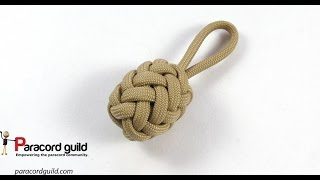 Herringbone Knot Paracord Key Fob